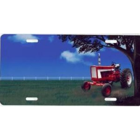 Red Tractor License Plate Free Personalization On This Plate Walmart Com