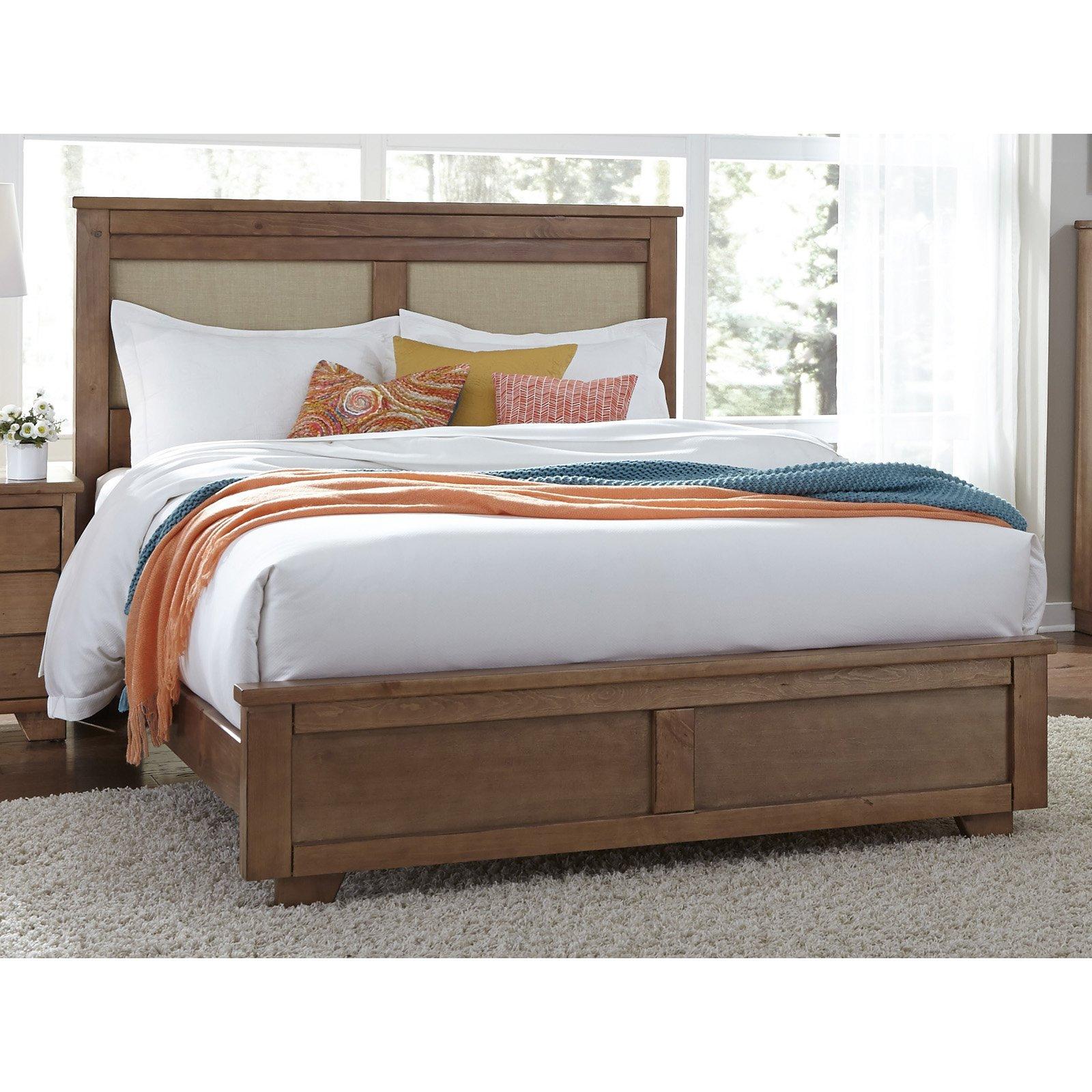 Progressive Furniture Diego Upholstered Panel Bed