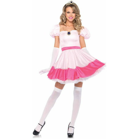 Leg Avenue 3-Piece Princess Off The Shoulder Dress Adult Halloween Costume - Katherine Pierce Halloween