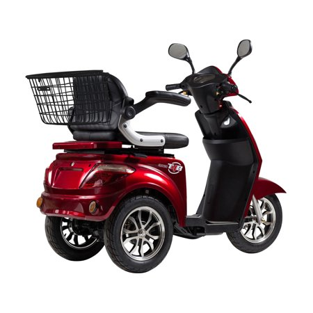 T4B LU-500W Mobility Electric Recreational Outdoors Scooter 48V20AH with Three Speeds, 14/22/32kmph - Red - image 1 de 14