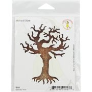 "Cheery Lynn Designs Die-Spooky Tree, 4""X3.25"""
