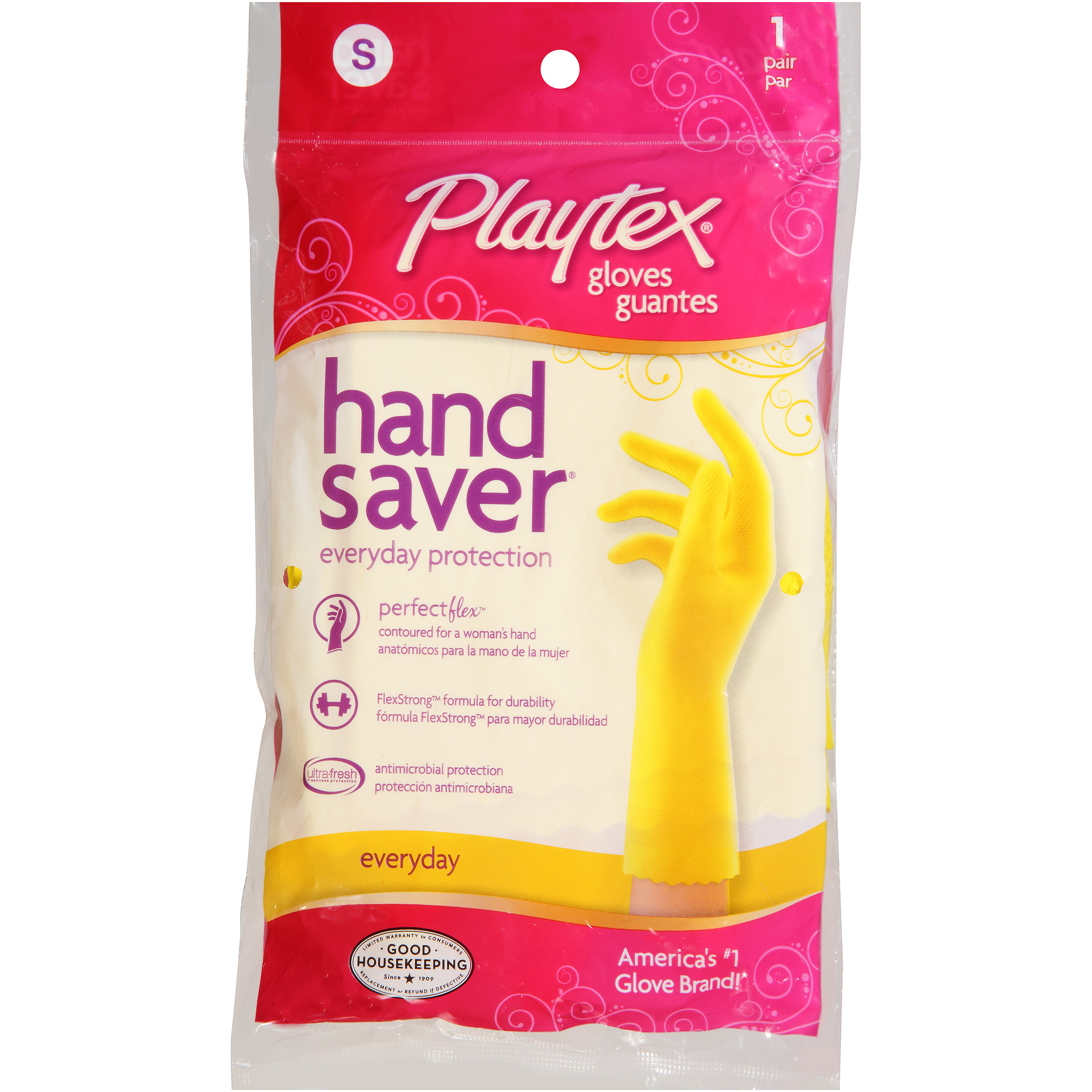 Playtex Handsaver Reusable Gloves Small - 1 Pair