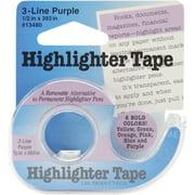 "Highlighter Tape .5""X393""-Purple"