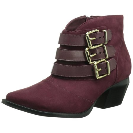 Madison Harding Bernahardt Womens Burgundy Boots