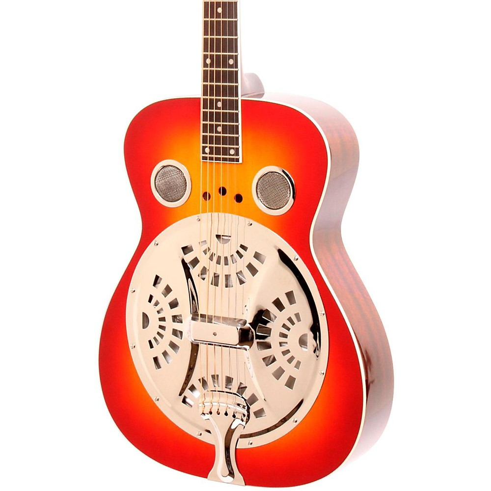 Regal RD-40 Resonator Cherry Sunburst Round Neck by