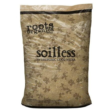 - Roots Organics ROS Hydroponic Soilless Gardening Coco Fiber Media Mix, 1.5 cu ft