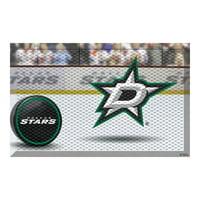 """NHL - Dallas Stars Scraper Mat 19""""x30"""" - Puck"""