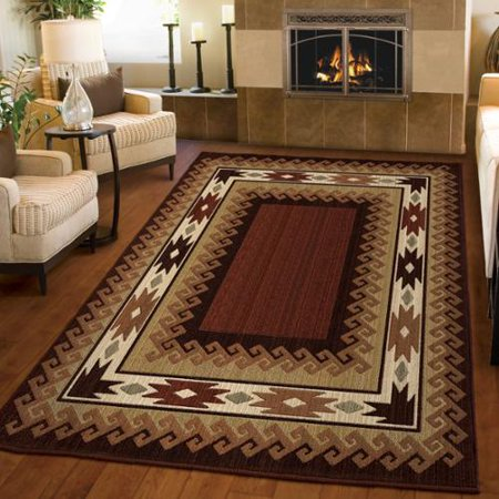 400f412780 Carolina Weavers Ornate Expressions Collection Glendale Brown Area ...
