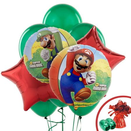 Super Mario Balloon (Super Mario Bros Party Supplies - Balloon)