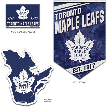 quality design d2f29 a0238 Toronto Maple Leafs WinCraft Home Goods Gift Set - No Size ...