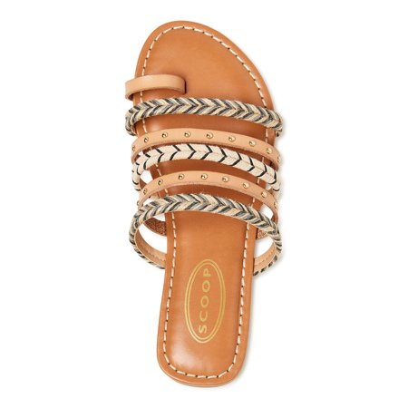 Scoop Women's Studded Strappy Slide Sandal
