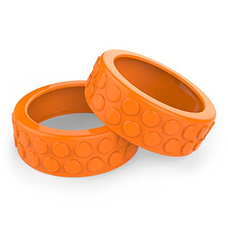 Sphero Ollie Nubby Tires for Robotic Cylindrical Ball (Orange) - image 1 of 1