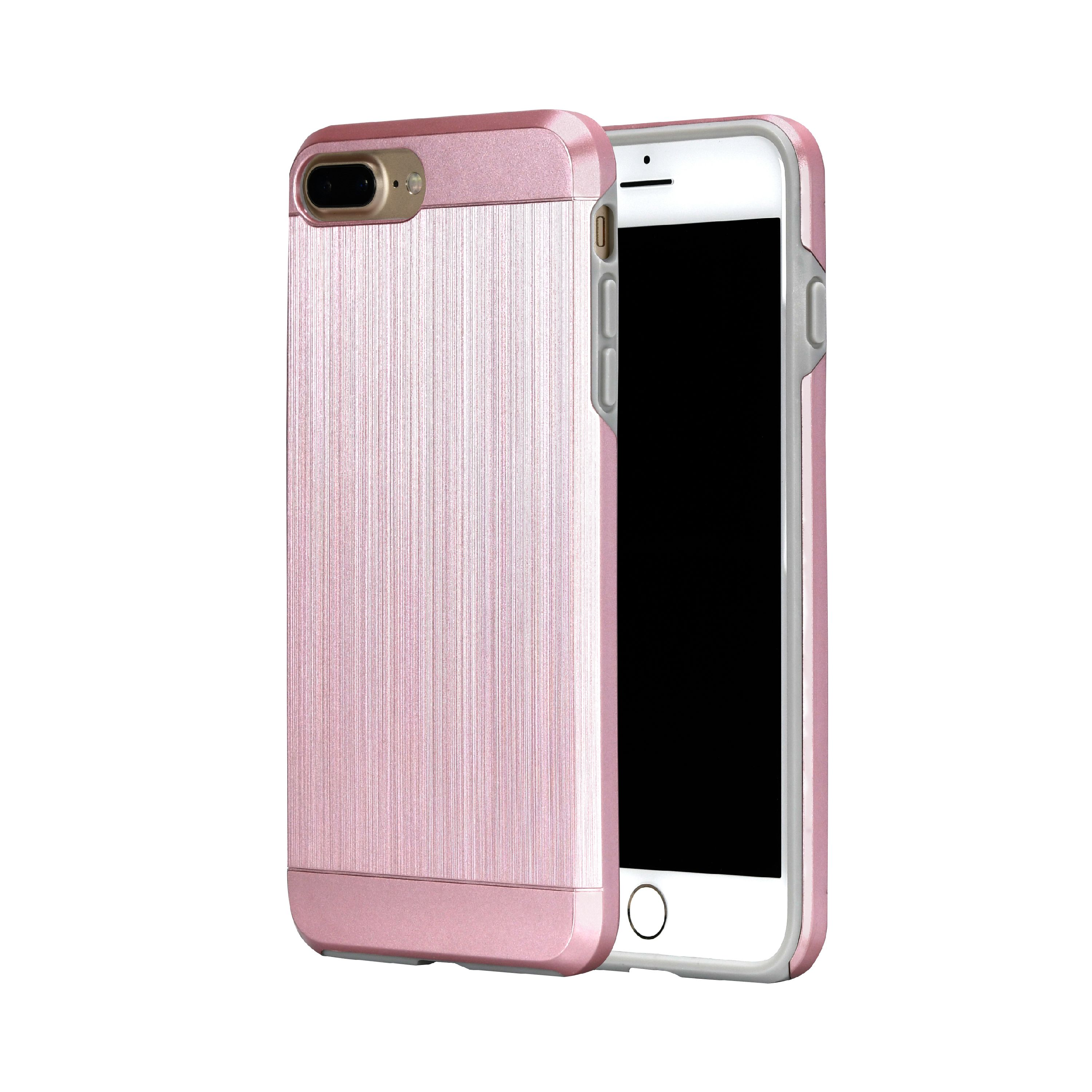 super popular c1aa5 ba57d Onn Metallic Effect Rose Gold Case For Iphone 7 Plus/8 Plus ...