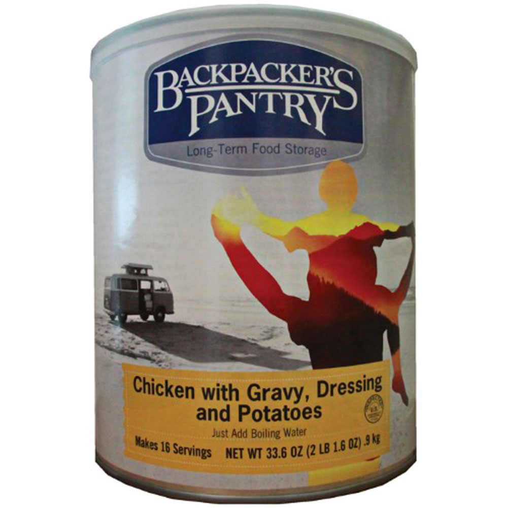 Backpacker's Pantry #10 Can Chicken with Gravy & Potatoes by Backpackers Pantry