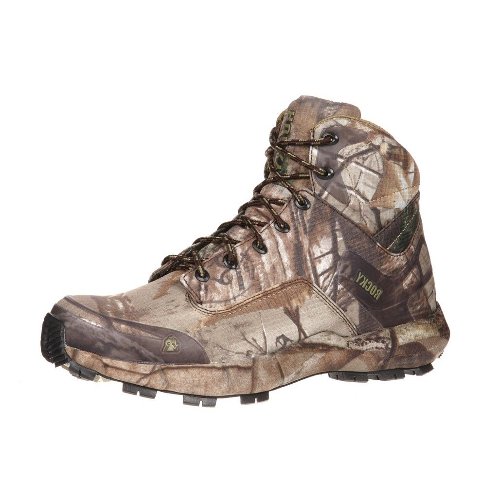 Rocky Outdoor Boots Mens 5 Quot Broadhead Trail Hiker Realtree