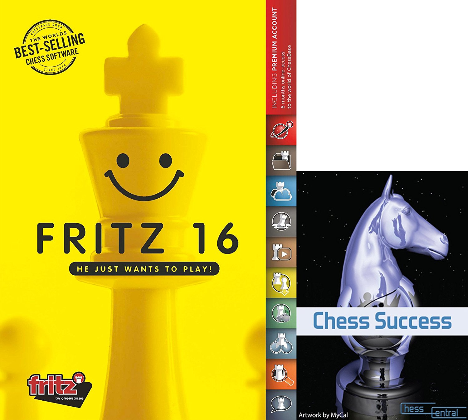 Fritz 16 Chess Playing and Training Software with Chess Success Training DVD by