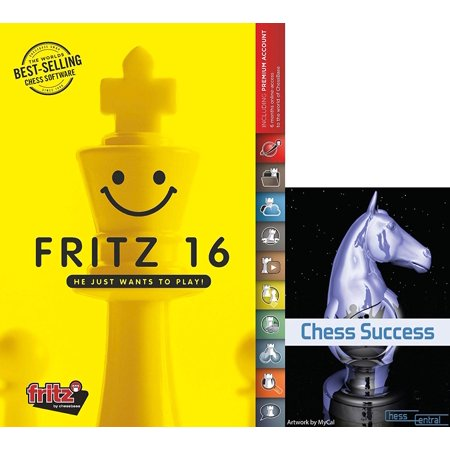 Fritz 16 Chess Playing and Training Software with Chess Success Training DVD