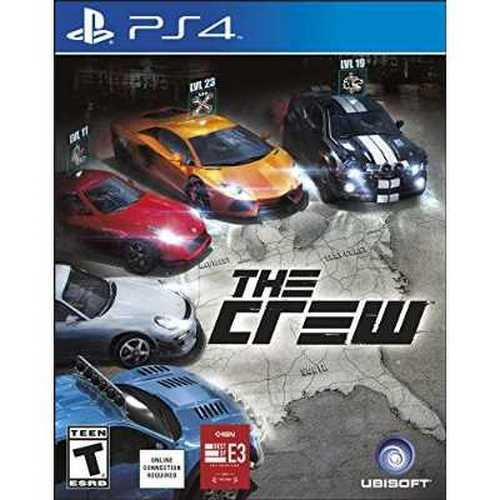 Ubisoft Cokem International Preown The Crew Ps4