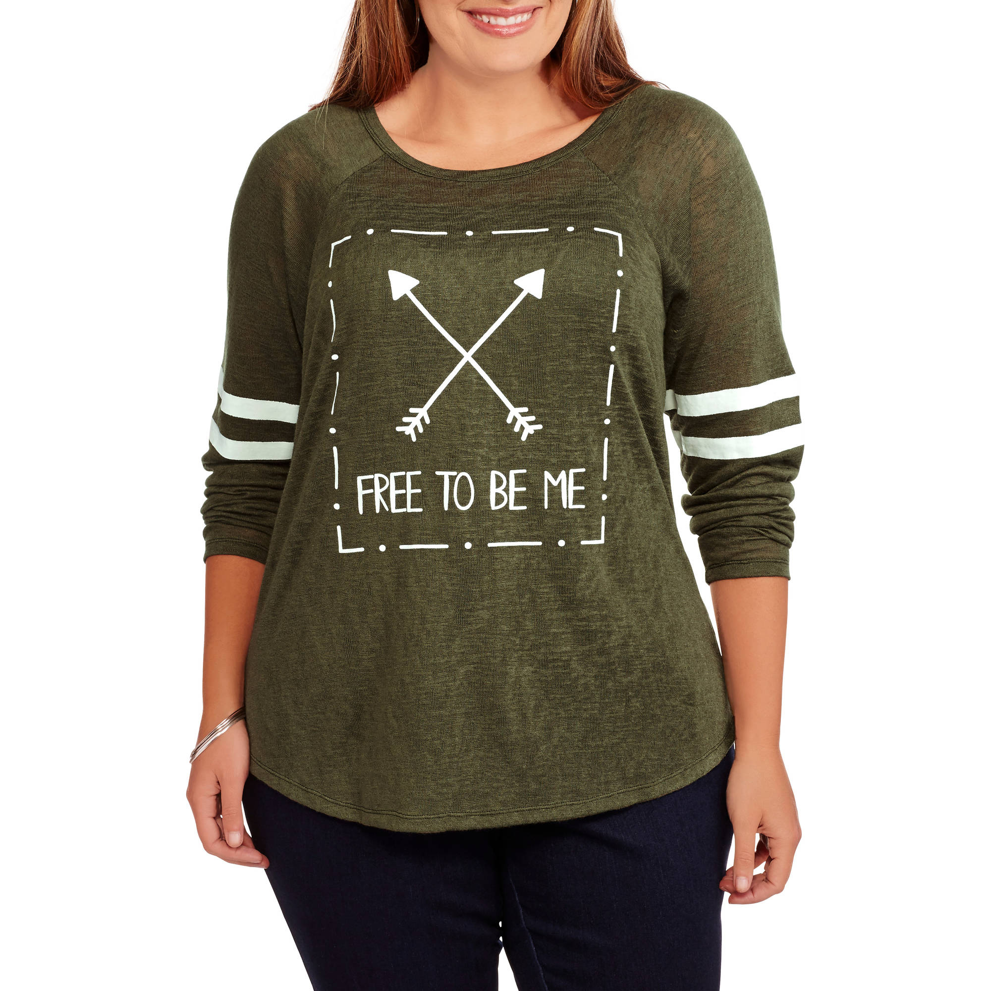 Miss Chievous Junior's Plus Knit Sweater Pullover Free