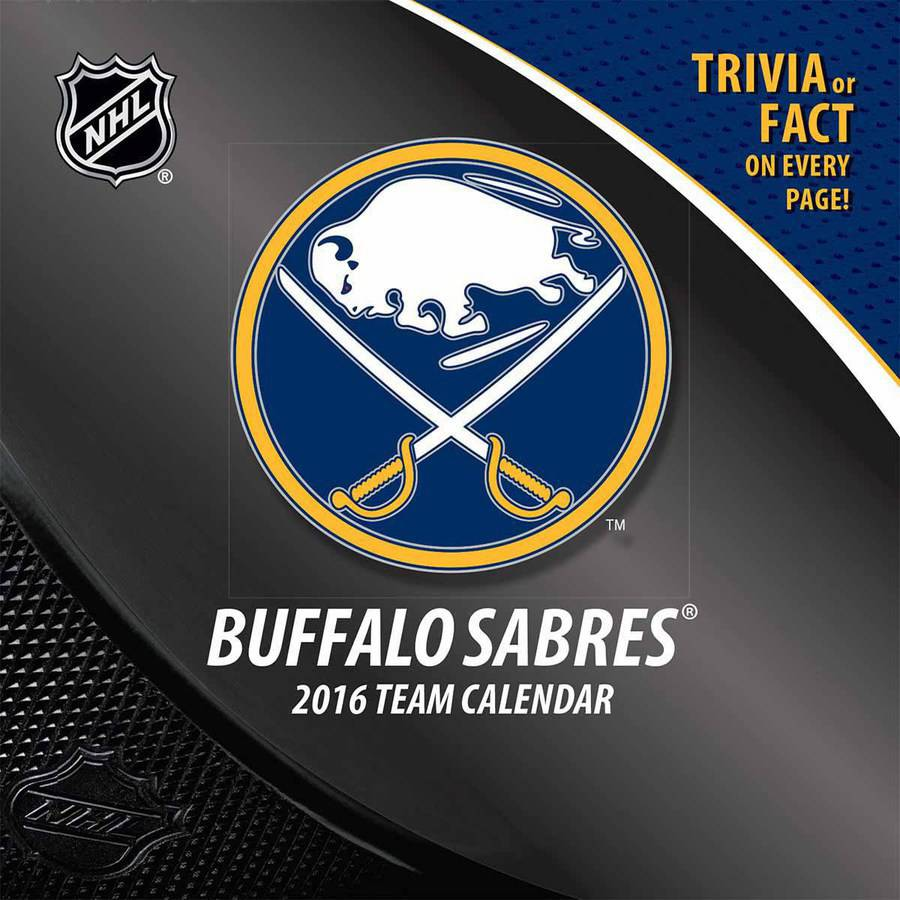 Turner Buffalo Sabres 2016 Box Calendar