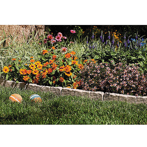 Suncast Border Stone Edging Walmartcom