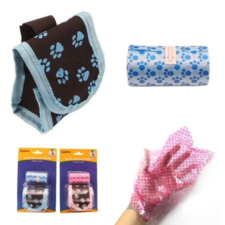 Dog Waste Bag Refills Dispenser Pet Dog Cat Pickup Poop Bags Refill Roll Clean