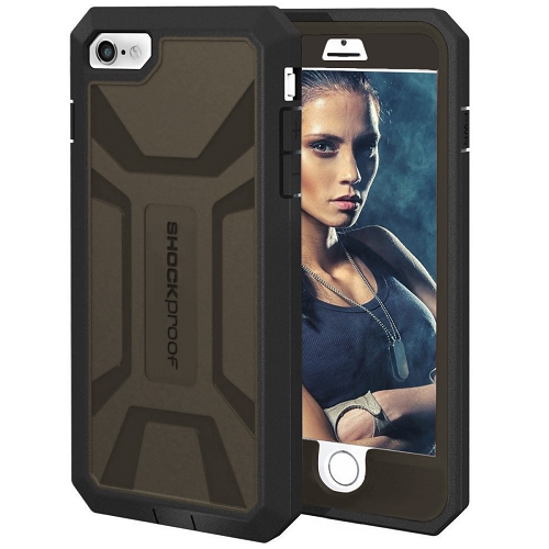 """iPhone 6 Plus 5.5"""" Case with Built-in Screen Protector [Outdoor Series](Apple iPhone 6S Plus 5.5"""") (Encased)"""