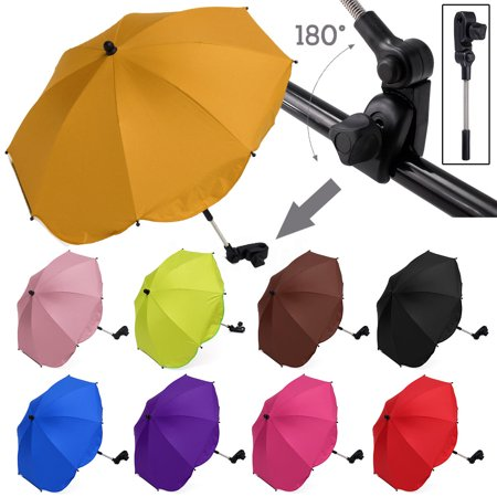 Green Pushchair Baby Pram Parasol Stroller Umbrella Sun Protection
