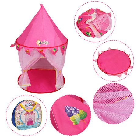 - GHP Steel Wire & Polyester Taffeta 190T Indoor Outdoor Portable Kids Playhouse Tent