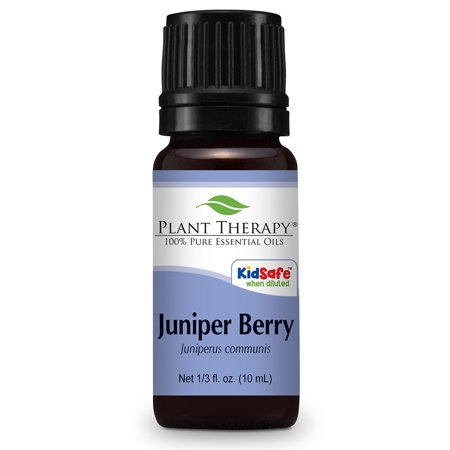 Plant Therapy Juniper Berry Essential Oil 10 mL (1/3 fl. oz.) 100% Pure, Undiluted, Therapeutic Grade