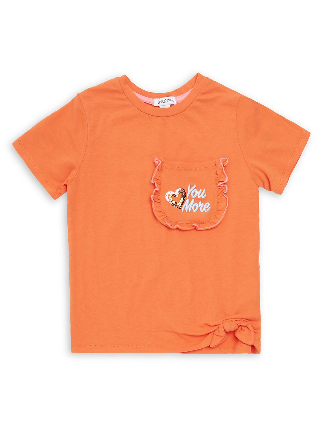 Little Girl's Stretch Crewneck Tee
