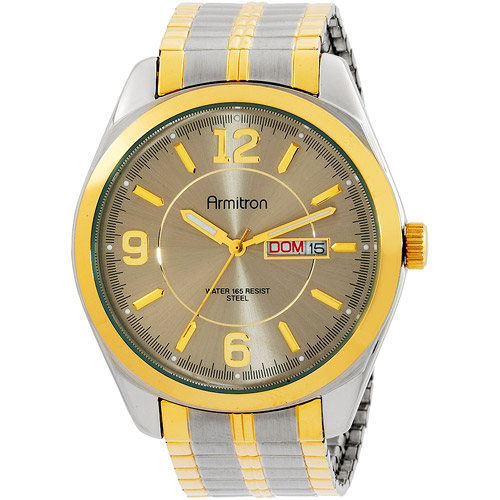 Armitron Men's Two-Tone Expansion-Band Dress Watch