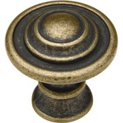 Liberty 35mm Kentworth Knob, Burnished Antique Brass