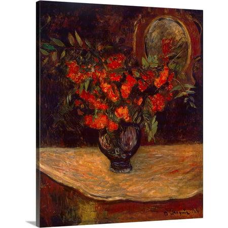 Great BIG Canvas | Paul Gauguin Premium Thick-Wrap Canvas entitled Bouquet, 1884 (1884 Canvas)