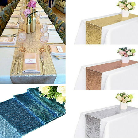 White And Gold Table Decorations (12