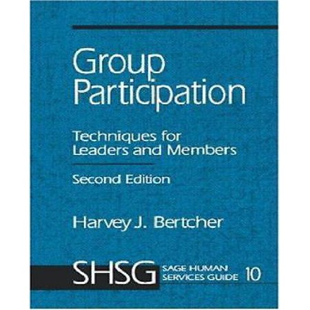 Group Participation  Techniques For Leaders And Members