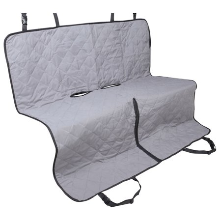 leader accessories grey car hammock seat cover for pet dog machine washable. Black Bedroom Furniture Sets. Home Design Ideas