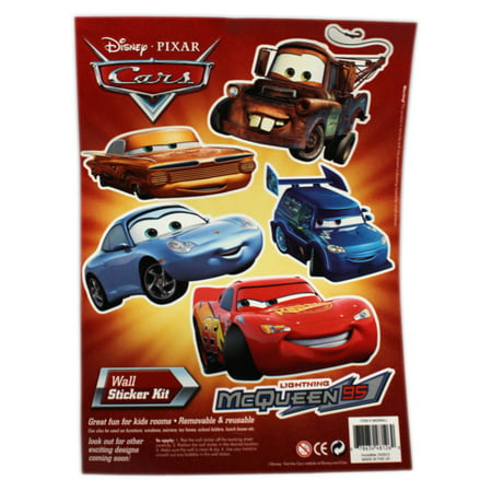 Disney Pixar's Cars Radiator Springs Residents Assorted Wall - Disney Car Stickers