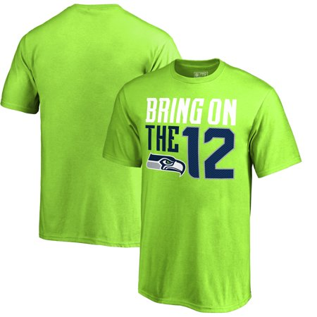 Seattle Seahawks NFL Pro Line by Fanatics Branded Youth Hometown Collection T-Shirt - Neon (Best Pho In Seattle Area)