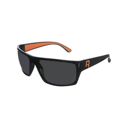 Reebok Classic 4 Golf Sunglasses,  Black/Orange (Reebok Sunglasses)