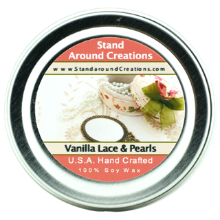 VANILLA LACE & PEARLS TIN 4-OZ.
