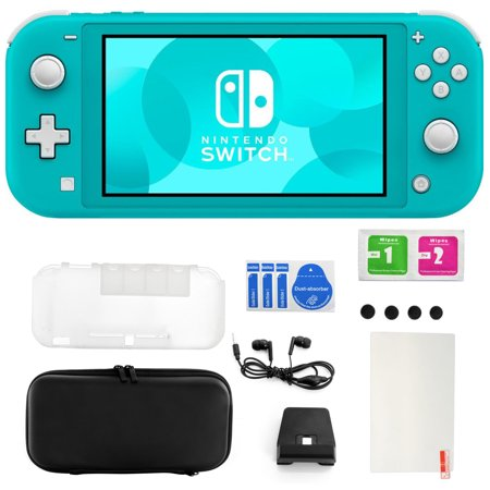 Nintendo Switch Lite in Turquoise with 11 in 1 Accessories Kit