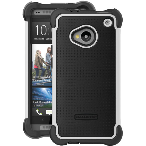 BALLISTIC SG1134-A085 HTC(R)One(TM) SG Case (Black/White)