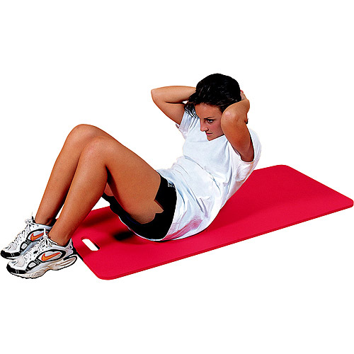 "Image of Aeromat Workout Mat with Handle, 20"" x 48"", Red"