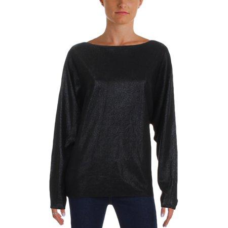 Lauren Ralph Lauren Womens Shimmer Boat Neck Pullover Sweater ()