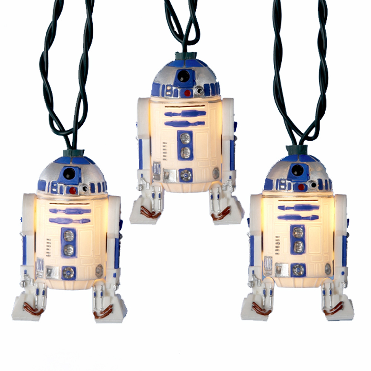 Kurt Adler 10 Star Wars R2-D2 Holiday & Christmas Tree Lights