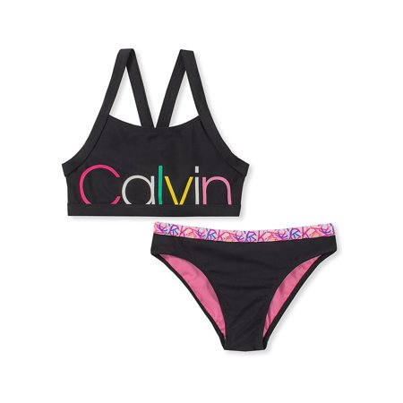 Girl's 2-Piece Graphic Bikini Set ()