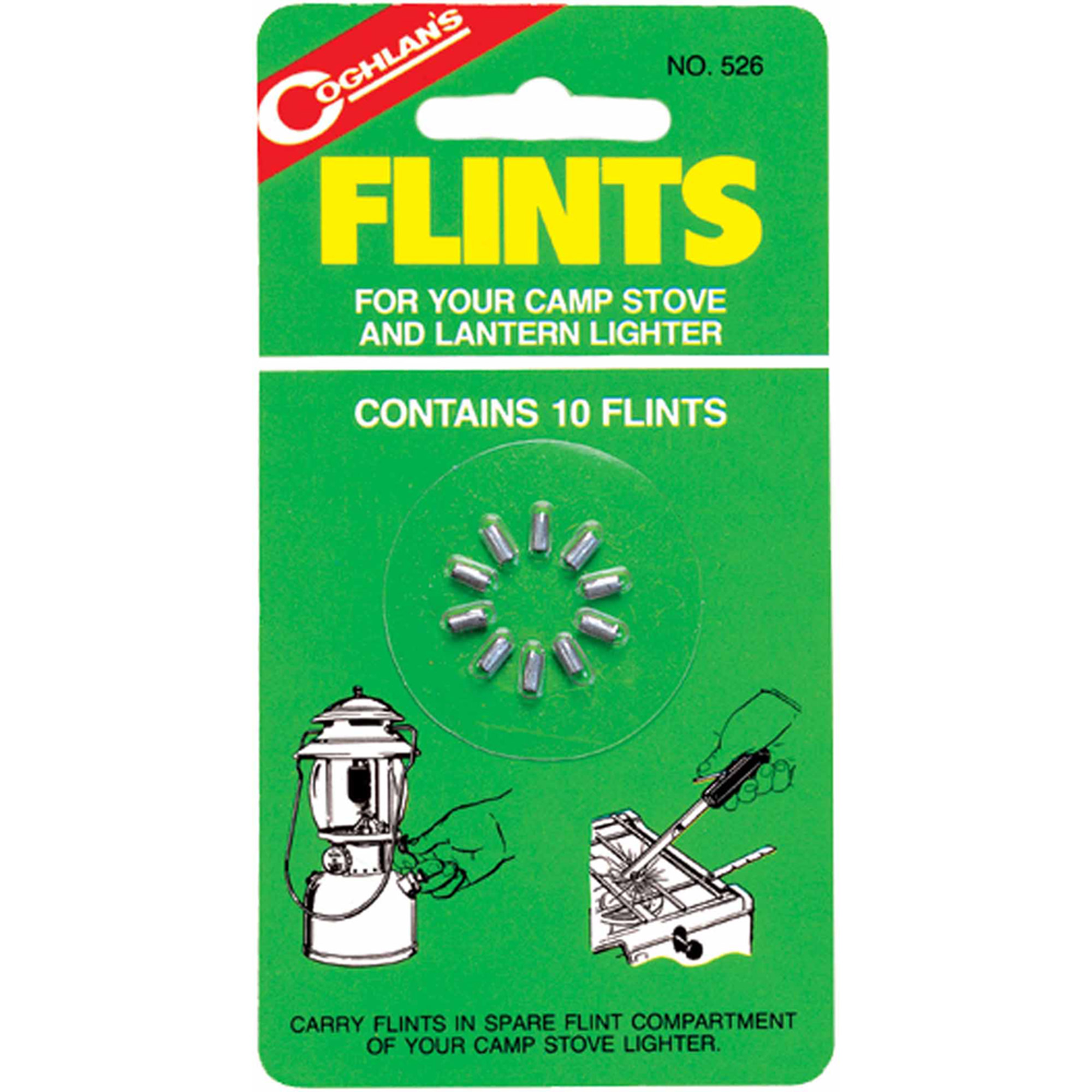 Coghlan's 526 Lighter Flints, 10pk