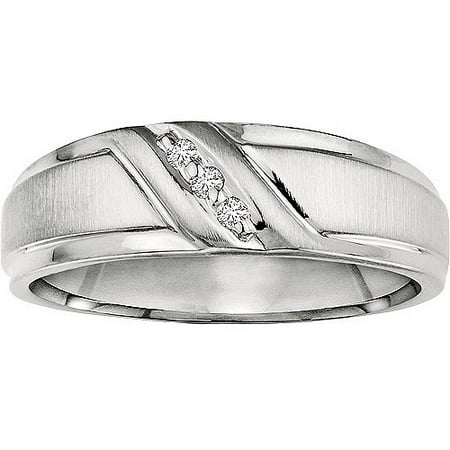 Forever Bride 1 20 Carat T W  Diamond Sterling Silver Band