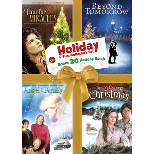 Holiday Collection Set - Volume 10: Angel In The Family / Beyond Tomorrow / A Time For Miracles / A Young Pioneer's Christmas